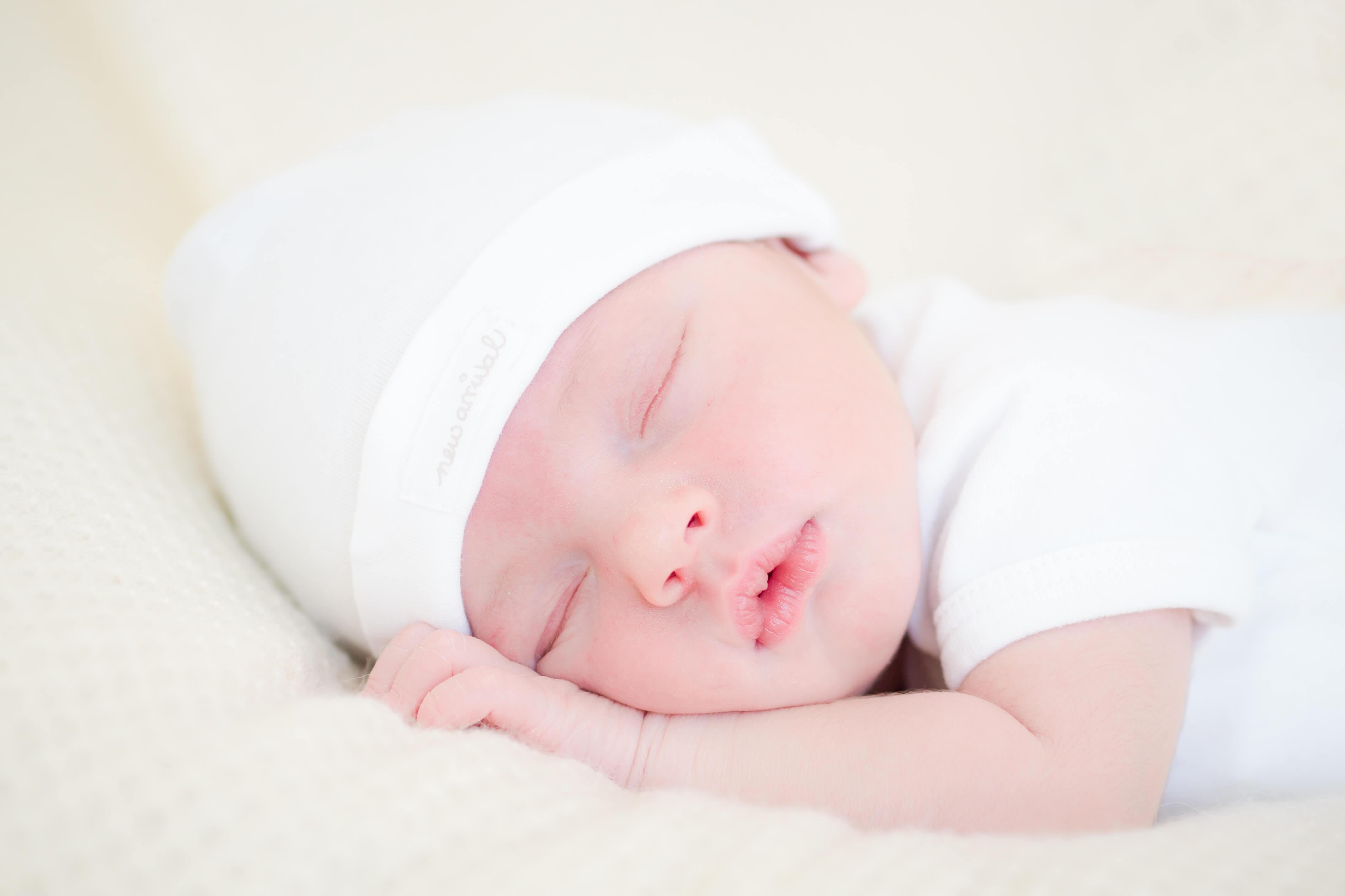 Newbornfotografie op Texel