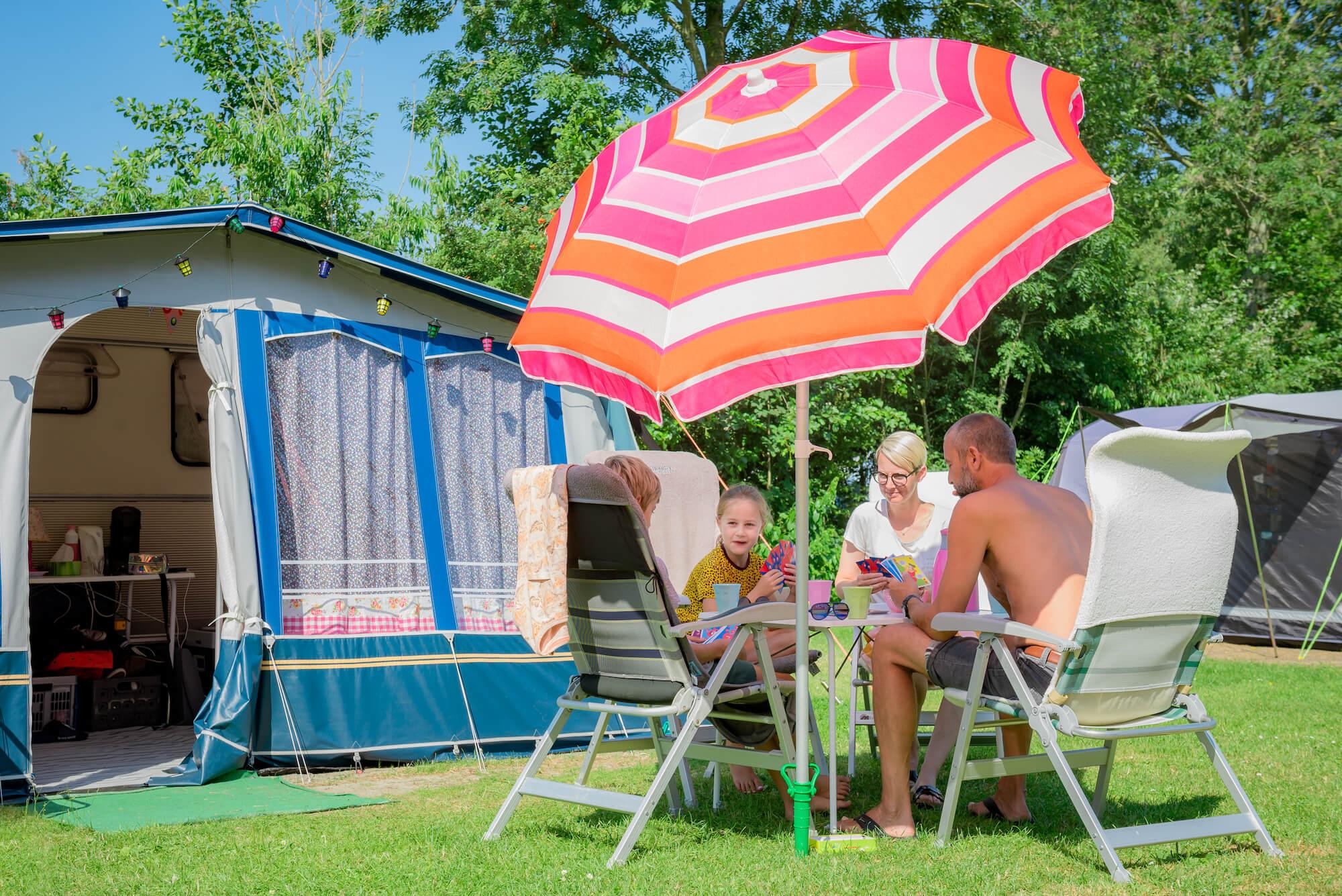 Fotografie camping Texel