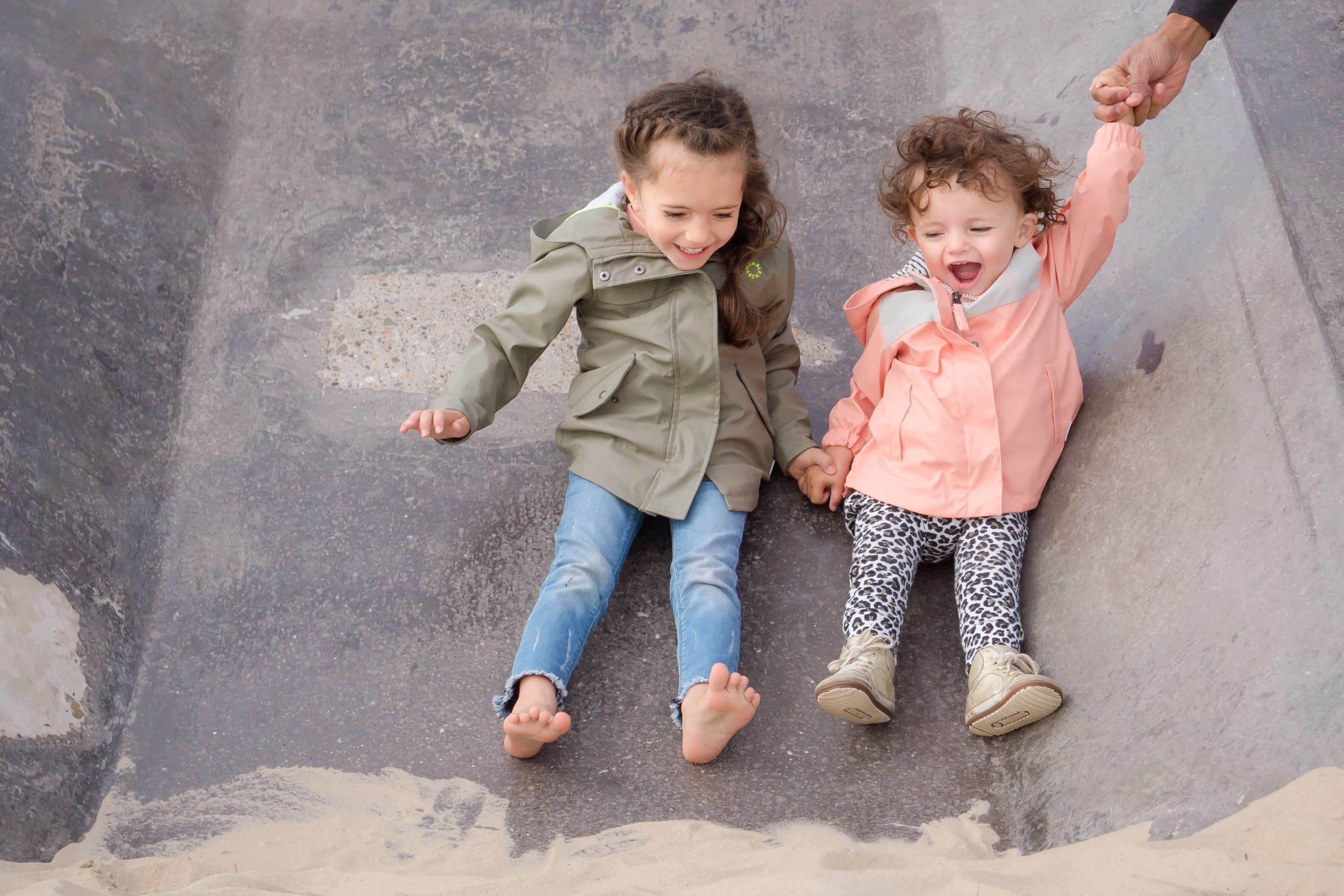 Fotografie kinderen op Texel
